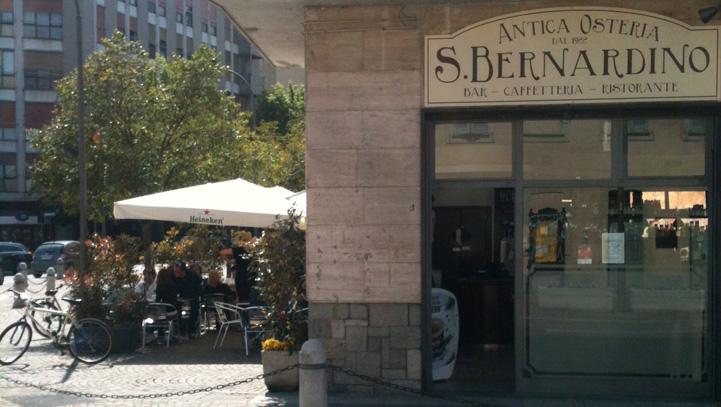 Antica Osteria San Bernardino: entrata